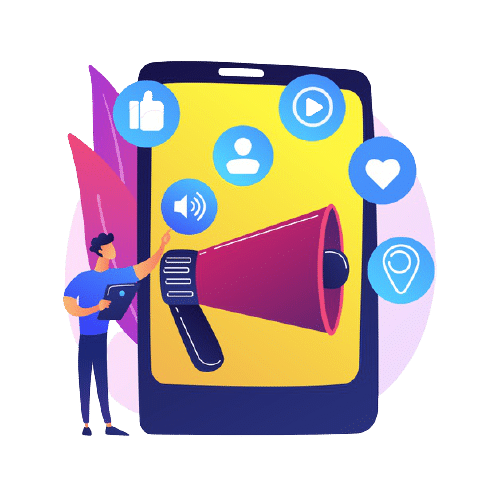 social media marketing e commerce tool smm management online advertising businessman using social networking product promotion 335657 858 removebg preview EXPORYA